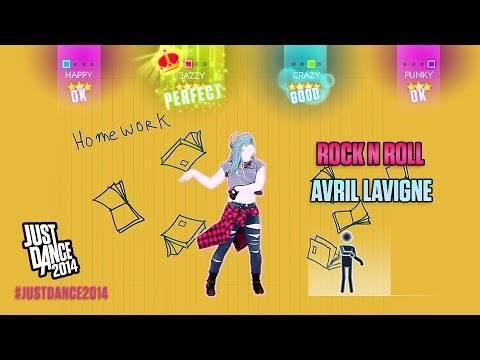 Avril Lavigne - Rock N Roll   Just Dance 2014   DLC Gameplay