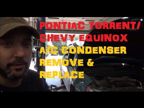 Pontiac Torrent / Chevrolet Equinox : A/C Condenser - Remove & Replace