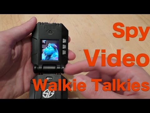 Spy Gear Spy Video Walkie Talkies, Full Review August 2015
