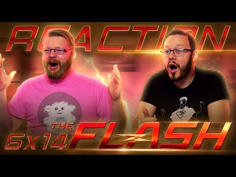"""The Flash 6x14 REACTION!! """"Death of the Speed Force"""""""