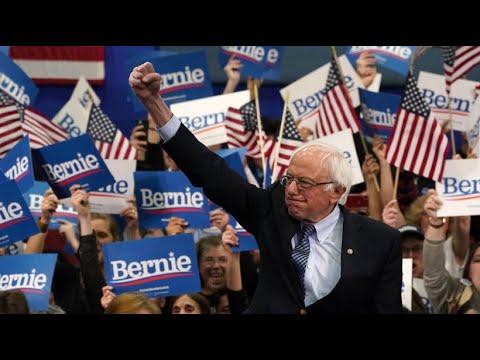 USA: Sanders setzt sich bei Demokraten-Vorwahlen in N ...