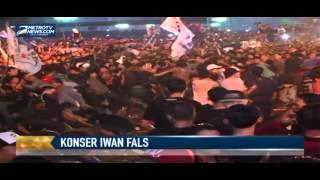 Konser Iwan Fals di Monas Diwarnai Bentrokan Video