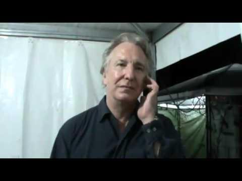 Intervista ad Alan Rickman al Festival internazionale del Teatro Romano