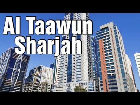 Al Taawun Sharjah UAE 23 January 2020 4K