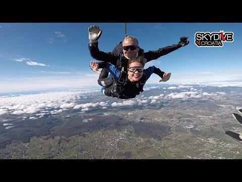 Skydive Croatia - Skok padobranom s vanjskom kamerom