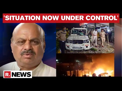 Bengaluru riots: K'taka Home Minister says, '145 Arrested, More To Be Detained'