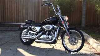 3. Used 2004 Harley Davidson Sportster 1200 Custom Motorcycles for sale