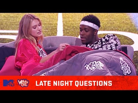 Jennifer Lopez & A-Rod 🍆 Share Pillow Talk | Wild 'N Out | #LateNightQuestions