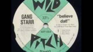 Gang Starr - Believe Dat [VLS] - To Be A Champion