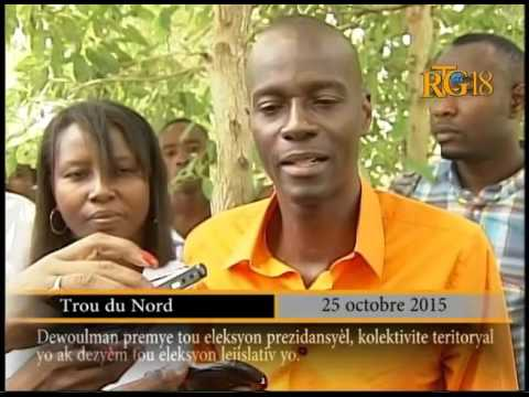 PHTK, Jovenel MOISE fulfilled his civic duty.