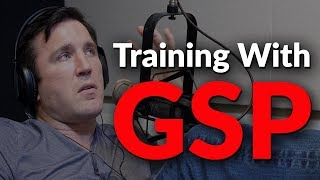 Video Chael Sonnen talks about the first time he trained with GSP MP3, 3GP, MP4, WEBM, AVI, FLV Juli 2019