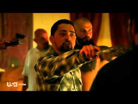 Graceland Season 3 episode 10 Armenian Mafia vs Sonato Gang