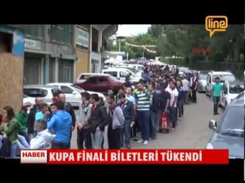 Kupa Finali Biletleri Tükendi   27 Mayıs 2015