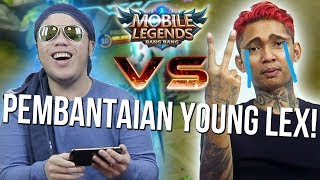 YOUNG LEX DIBANTAI ABIS SULTAN PROS TANPA AMPUN!?!? - Mobile Legends Indonesia #59