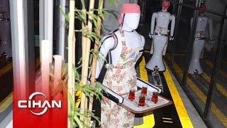 Garson robotlar işbaşı yaptı