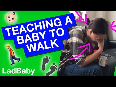 Learning to walk with dad