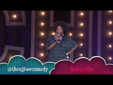 South African Stand Up Comedian Thenjiwe  Live Carnival City