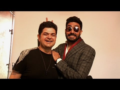 Abhishek Bachchan - Watch behind the scenes action as Abhishek Bachchan posses for Dabboo Ratnani's 2015 calendar. For More Updates: Subscribe to http://www.youtube.com/MovieTal...