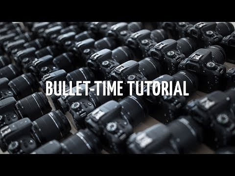 Bullet-time Tutorial - Software & Hardware