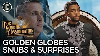 Golden Globes Nominations: The Biggest Snubs and Surprises - For Your Consideration by Collider