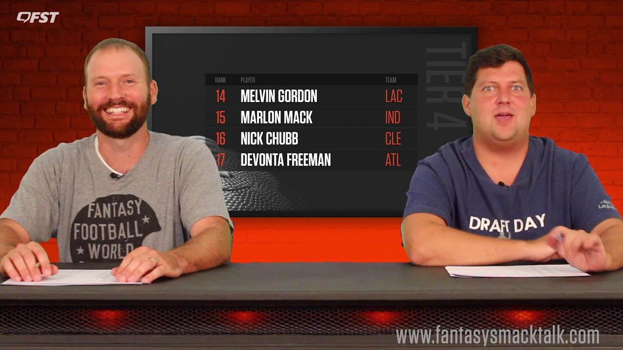 2019 Fantasy Football Running Back Tiers and Rankings thumbnail