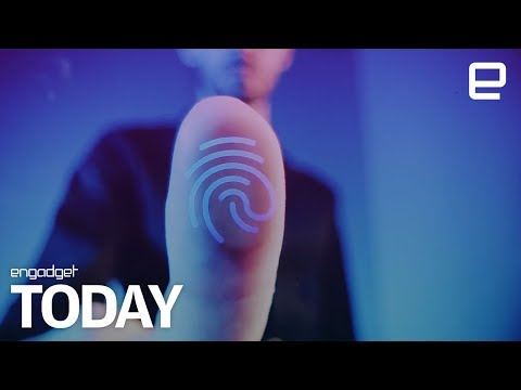 Vivo showcases an invisible fingerprint scanner before Apple | Engadget Today