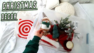 target christmas decor + decorating my room for christmas! vlogmas day 6 by Alisha Marie Vlogs