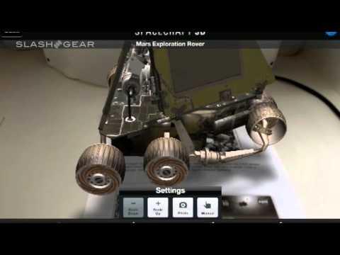 Aplicación de la NASA permite conocer exploradores del espacio en 3D