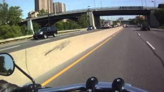 10. Quick jaunt on the 2011 Harley-Davidson Dyna® Fat Bob®