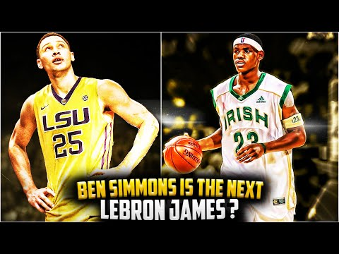 Why BEN SIMMONS IS The Next LEBRON JAMES?