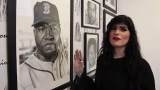Dominicana Pamela Rivera y sus impresionantes dibujos realistas