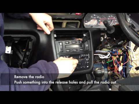 Full Dashboard Removal from a Peugeot 406