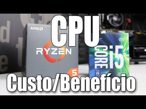 Ryzen 5 vs Core i5: a batalha pelo PC \