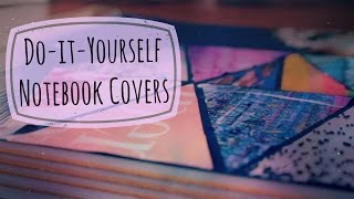 DIY Notebook Covers ✎ Back to School - YouTube