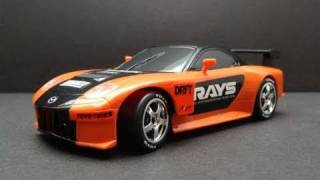 Nonton Nikko Fast & the Furious 3 Veilside Mazda RX7 - 1/22nd scale RC car - video 1 Film Subtitle Indonesia Streaming Movie Download