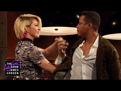Jenna Elfman & Terrence Howard Do the Tango