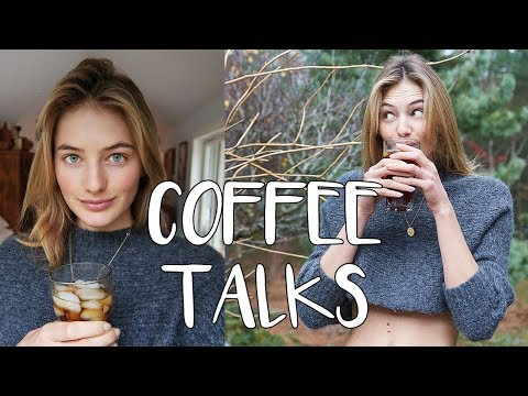 Coffee Talks | Easy Morning Routine, Diet Tips, Breakfast, & Cold Brew | Sanne Vloet