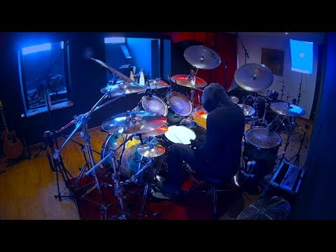 #105 Fear Factory - Edgecrusher - Drum Cover (видео)