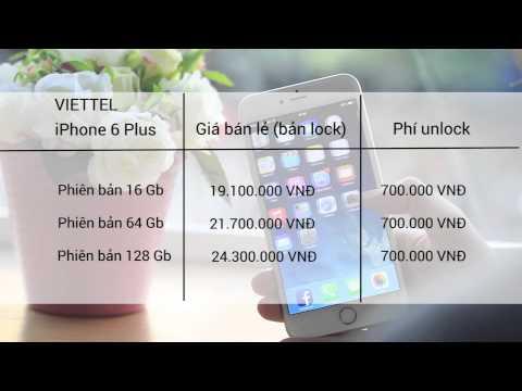 Mở hộp iPhone 6 Plus chính hãng : Tổng hợp giá bán, điểm khác biệt