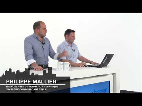 after work - Découvrez les bénéfices de la nouvelle gamme KNX tertiaire Hager. Gwenaël Leroutier (chef de produits domotique et multimédia) et Philippe Mallier (responsab...