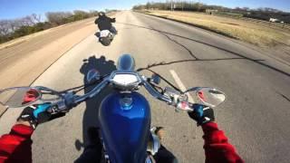 8. Honda Fury riding Waco