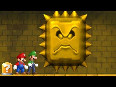 Newer Super Mario Bros Wii - All Castles (2 Player) (видео)