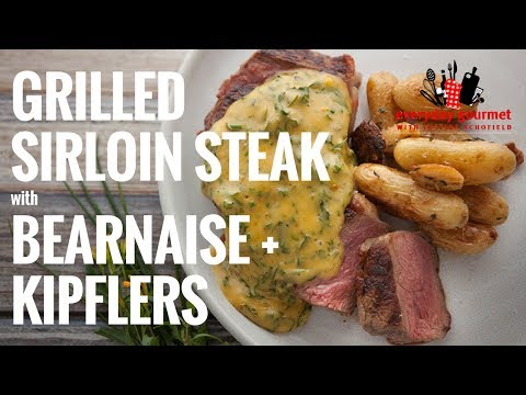 Tefal Grilled Sirloin Steak with Bearnaise Sauce and Roasted Kipflers | Everyday Gourmet S6 E63