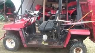 8. Repowered KAF450 Mule, $100 6.5Hp Predator, winter slumber ends