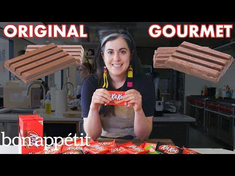 Pastry Chef Attempts To Make Gourmet Kit Kats | Gourmet Makes | Bon Appétit