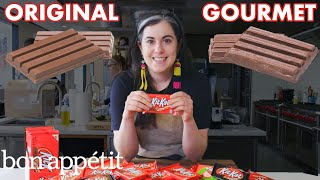 Video Pastry Chef Attempts To Make Gourmet Kit Kats | Gourmet Makes | Bon Appétit MP3, 3GP, MP4, WEBM, AVI, FLV Maret 2019