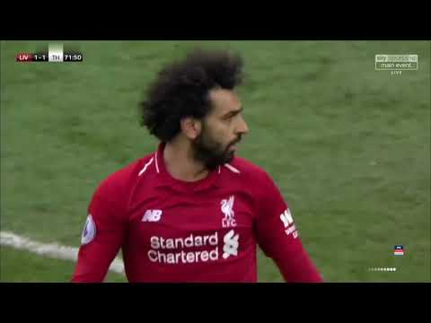 Liverpool vs spurs 2-1 match highlights