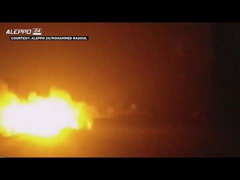 Syrie : un convoi d'aide humanitaire de 31 camions bombardé