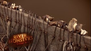 Fishing With 76 Hooks - River Monsters