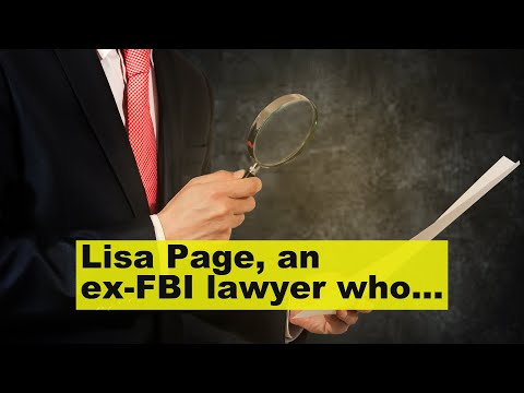 Lisa Page, an ex-FBI lawyer who came under fire for her anti-Trump texts, says 'I'm done being ..